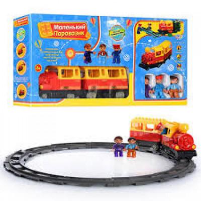 """Игровой конструктор """"Железнодорожный вокзал"""" Limo Toy, звуковые эффекты (M 0440 )"""