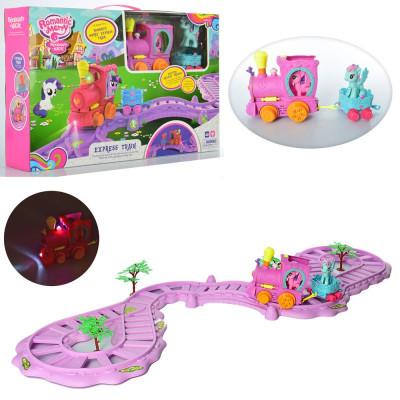 Набор игровой Железная дорога My Little Pony звук, свет (88362)