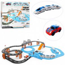 Іграшкова залізниця 8870-1, 98 деталей, довжина траси 717 см, на батарейках, в коробці