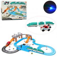 Іграшкова залізниця 8870-2, 69 деталей, довжина траси 538 см, на батарейках, в коробці