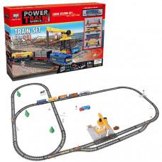 Детская железная дорога Baisiqi Power Train World Порт (670 см)