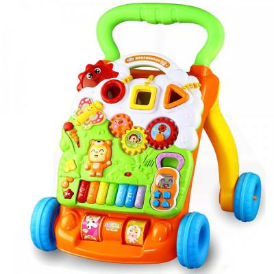 Детская каталка-ходунки Baby Evolution с игровым центром (2301)