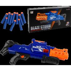 Бластер-автомат з м'якими кулями 40 штук, на батарейках, в коробці 7121