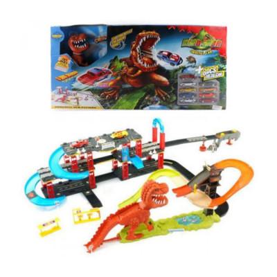 Игровой набор Трек Динозавр Рекс аналог Hot Wheels (8899-93)