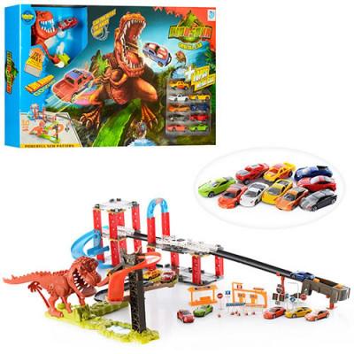 Игровой набор Трек Динозавр в городе аналог Hot Wheels (8899-94)