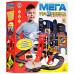 Детский игровой гараж для мaшинoк 4 уровня 4 машинки