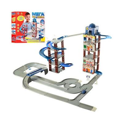 Детский игровой гараж парковка 6 уровней