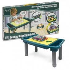 Игровой набор 3 в1 Стол Конструктор Песочница Table block
