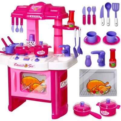 """Детская кухня """"Kitchen set"""" 008-26 (звук, свет,15 предметов)"""