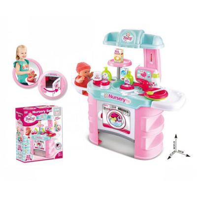 """Детская кухня """"Nursery Set"""" с посудкой и аксессуарами, 25 предметов (008-910)"""