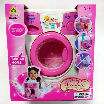 Детская стиральная машина вращается барабан (2027)
