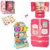 Игрушечный холодильник с продуктами - 27 предметов (35882D, 28 см)