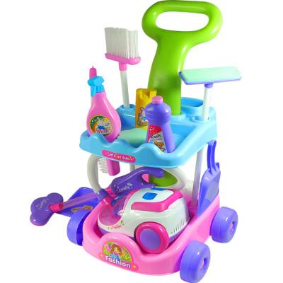 Детский набор для уборки 5952 (тележка, пылесос)