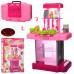 Детская кухня Kitchen для девочек, в чемодане (661-60)