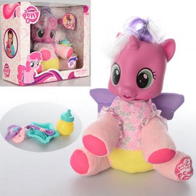 """Интерактивная лошадка """"My Little Pony"""" мягконабивная,с аксессуарами (66228)"""