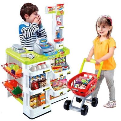 """Детский супермаркет """"Bambi"""" 668-01-03 (с тележкой)"""