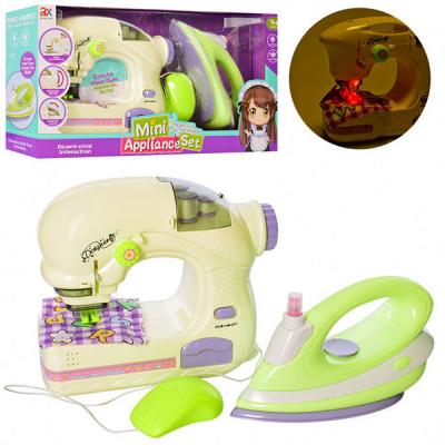 Детский игровой набор бытовой техники (утюг, швейная машинка)