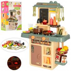 Детская кухня 72 см Home Kitchen: духовка, плита, посуда, продук, течет вода, свет, звук, 38 предметов