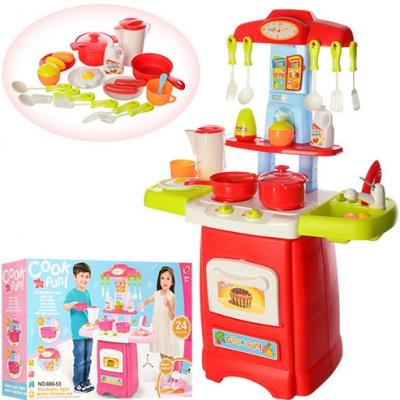 """Детская кухня """"Готовим весело"""" 889-52-53 (45х62х21,5 см)"""