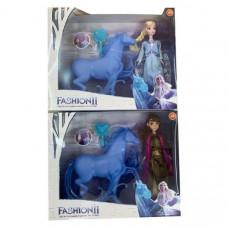 Куклы Холодное сердце Анна и Эльза с Лошадью