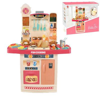 Детская игровая кухня Fun Cooking (Розовый)