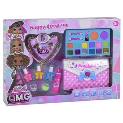 Набор детской косметики OMG + косметичка