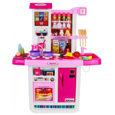 Детская большая кухня с водой из крана, сенсорный экран холодильника (WD-A23)