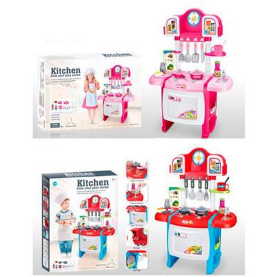 Детская кухня Kitchen плита, духовка 50х31х70 см (WD-P19-R19)