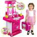 Детская кухня Kitchen (Розовый)