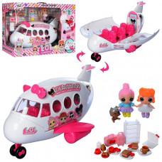 Игровой набор LOL Самолет с куколками (К 5625)