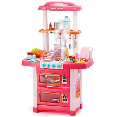 Детская игровая кухня (WD-P38, Розовый)