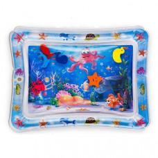 Детский водный коврик с рыбками Водяной коврик