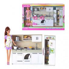 Игровой набор Кукла DEFA (Кухня)