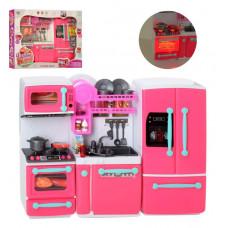 """Мебель для кукол """"Кухня"""", 29-38см, плита, холодильник, посуда, продукты, звук, свет, батарейки"""