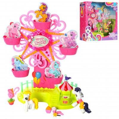 Карусель для пони My Little Pony с аксессуарами, звуковые и световые эффекты (789)