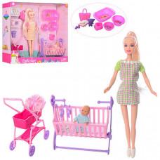 Игровой набор Кукла DEFA беременная