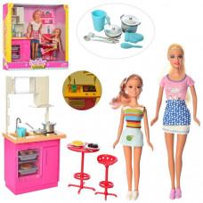 Игровой набор Кукла DEFA (Кухня, сестричка)