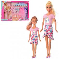 Игровой набор Кукла DEFA (Дочка, наряды)