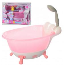 Ванночка для пупса с функциональным душем, свет, звук