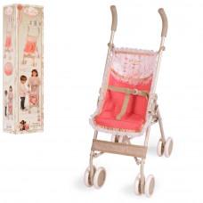 Коляска для куклы, прогулочная, металлическая DeCuevas 90133