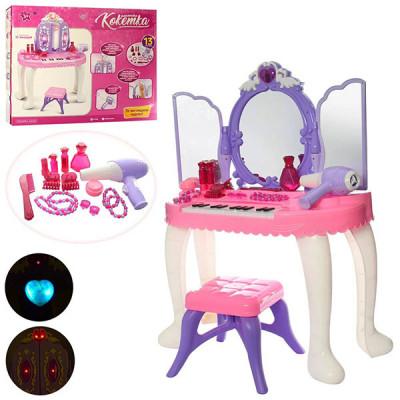 Детское трюмо со стульчиком и пианино YL80015