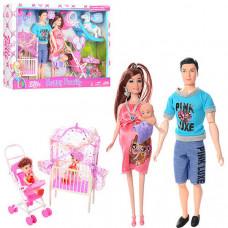 """Игровой набор кукол """"Счастливая семья"""" (JX600-94)"""