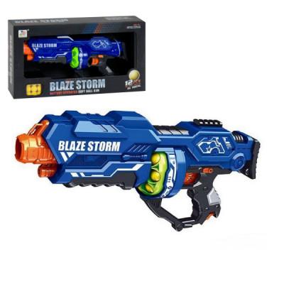 """Бластер """"Blaze storm"""" з м'якими кулями, кульками, Nerf, Нерф (ZC 7116 (р))"""