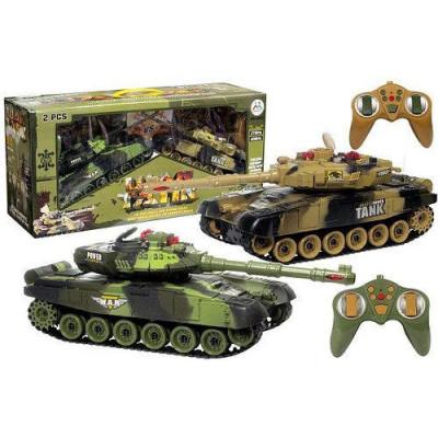 Комплект танков Танковый бой War Tank, гусеничный на радиоуправлении (9995-2)