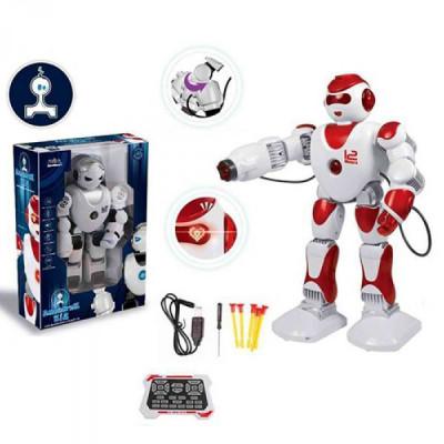 """Интерактивный робот """"Джойстик Кид"""" (Белый с красным)"""