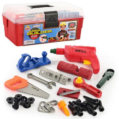 Детский набор инструментов в чемоданчике, 33 инструмента (2059)