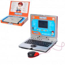 Детский ноутбук 7073 укр/рус/англ с мышкой, 35 функций + 11 игр