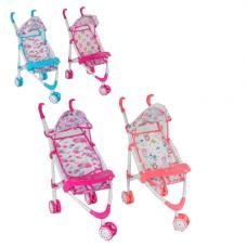 Дитяча прогулянкова коляска для ляльок 2025
