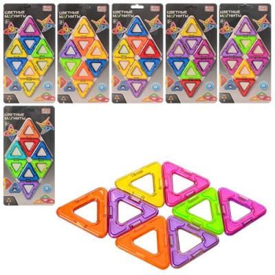 """Детский магнитный конструктор """"Цветные магниты"""" 8 деталей (2432)"""