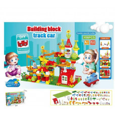 """Конструктор для малышей с крупными деталями 6363 """"Парк развлечений"""", 156 деталей, в коробке"""